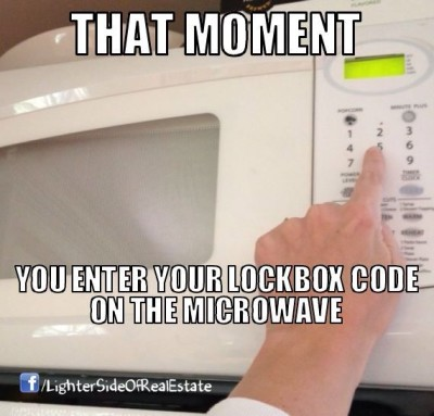 Entering Lockbox Codes Everywhere